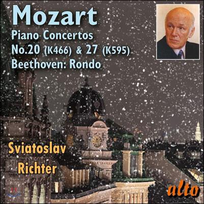 Sviatoslav Richter 모차르트: 피아노 협주곡 20번, 27번 / 베토벤: 론도 (Mozart: Piano Concertos K466, 575 / Beethoven: Rondo)