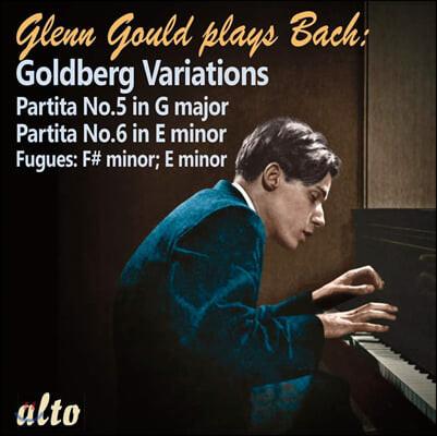 Glenn Gould 바흐: 골드베르크 변주곡, 파르티타 5, 6번 외 (Bach: Goldberg Variations, Partitas BWV829, 830)