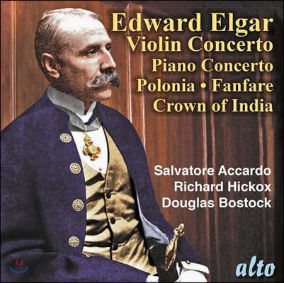 Salvatore Accardo / Richard Hickox 엘가: 바이올린 협주곡, 피아노 협주곡 외 (Elgar: Violin Concerto, Piano Concerto etc.)
