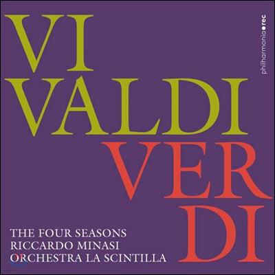 Riccardo Minasi 비발디 / 베르디: 사계 (Vivaldi / Verdi: The Four Seasons)