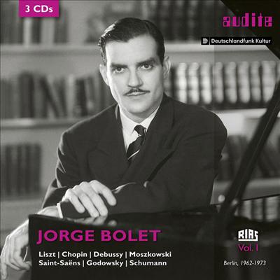 호르헤 볼레 - RIAS 레코딩 1집 (RIAS Recordings Vol. 1) (3CD) - Jorge Bolet