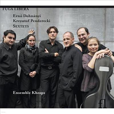 도흐나니 : 클라리넷, 호른, 현악삼중주와 피아노를 위한 6중주 C장조 Op.37 & 펜데레츠키 : 클라리넷, 호른, 현악삼중주와 피아노를 위한 6중주 (CD) - Ensemble Kheops