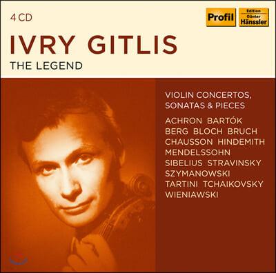 이브리 기틀리스 바이올린 연주집 (Ivry Gitlis - The Legend)