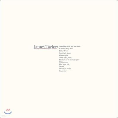 James Taylor (제임스 타일러) - James Taylor's Greatest Hits [LP]