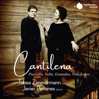 Tabea Zimmermann 타베아 침머만 비올라 연주집 - 파야 / 카잘스 / 피아졸라 / 빌라 로보스 (Cantilena)