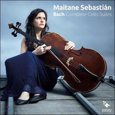 Maitane Sebastian 바흐: 무반주 첼로 모음곡 (Bach: Complete Cello Suites)