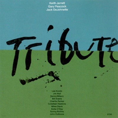 Keith Jarrett Trio - Tribute (USA 초반/ 2CD)