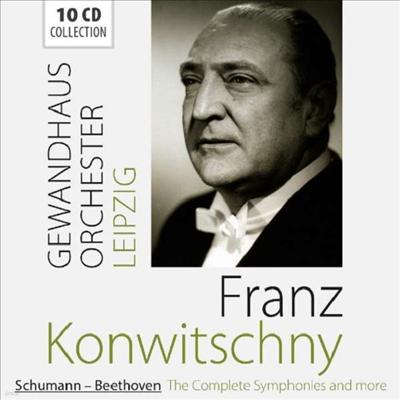 슈만 & 베토벤: 교향곡 전집 (Schumann & Beethoven The Complete Symphonies) (10CD Boxset) - Franz Konwitschny