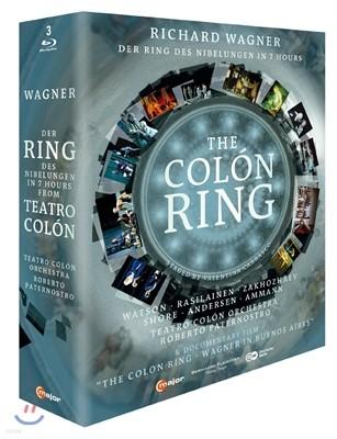 바그너 : 니벨룽의 반지 - 7시간 축약 버전 + 다큐멘터리 '콜론의 반지'
