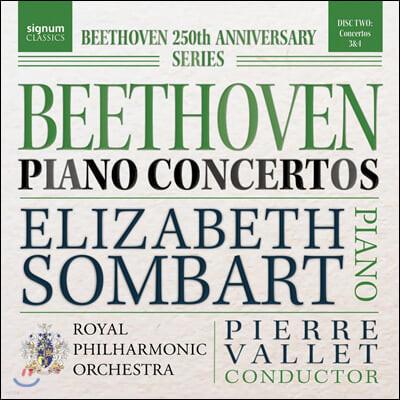 Elizabeth Sombart 베토벤: 피아노 협주곡 3, 4번 (Beethoven: Piano Concertos Op. 37, 58)