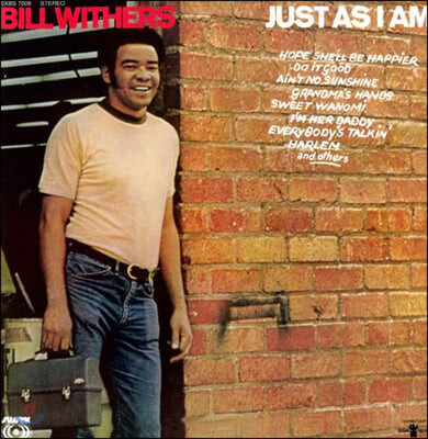 Bill Withers (빌 위더스) - Just As I Am [LP]