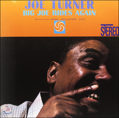 Big Joe Turner (빅 조 터너) - Big Joe Rides Again [LP]