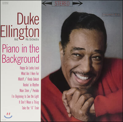 Duke Ellington (듀크 엘링턴) - Piano In The Background [LP]