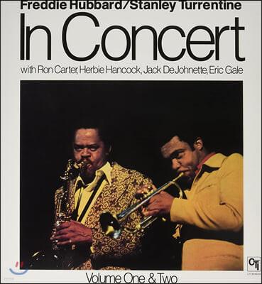Freddie Hubbard & Stanley Turrentine (프레디 허버드 앤 스탠리 터렌타인) - In Concert [2LP]