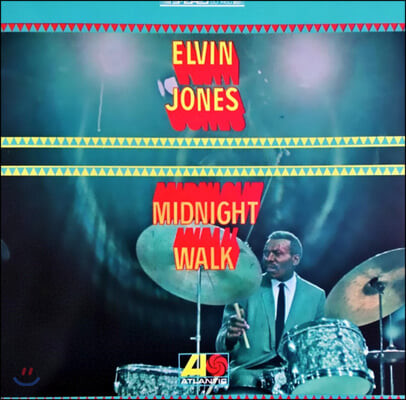 Elvin Jones (엘빈 존스) - Midnight Walk [LP]