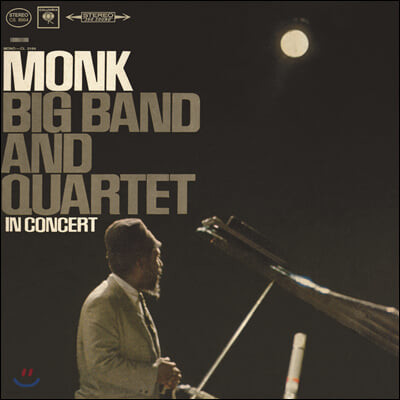 Thelonious Monk (델로니어스 몽크) - Big Band And Quartet In Concert [LP]