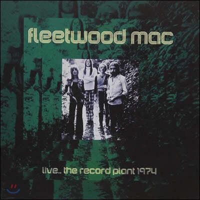 Fleetwood Mac (플리트우드 맥) - Live The Record Plant 1974