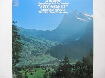 LP(수입) 슈베르트: 교향곡 9번 그레이트 - 조지 셀 / 클리블랜드 관현악단