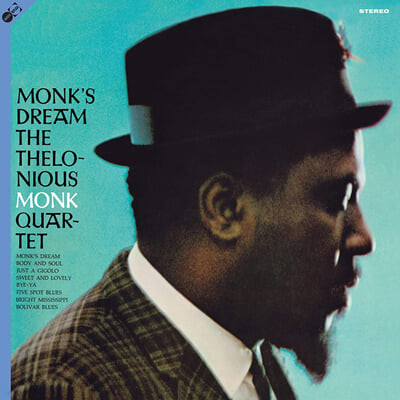 Thelonious Monk Quartet (텔로니어스 몽크 쿼텟) - Monk's Dream [LP+CD]