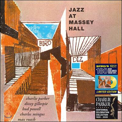 Charlie Parker (찰리 파커) - Jazz at Massey Hall [옐로우 컬러 LP]