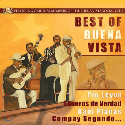 쿠바 음악 모음 1집 (The Best Of Buena Vista) [LP]