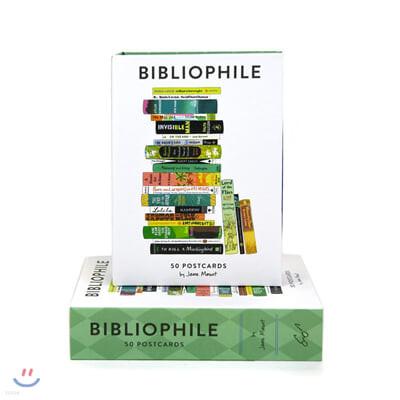 Bibliophile: 50 Postcards : '우리가 사랑한 세상의 모든 책들' 엽서 50장 세트