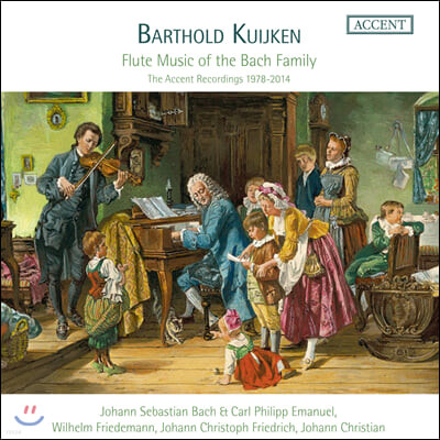 Barthold Kuijken 바흐 가문의 플루트 음악 (Flute Music of the Bach Family)