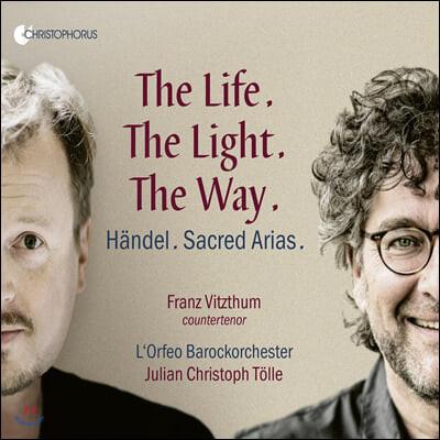 Franz Vitzthum 헨델: 종교적 아리아들 (Handel: Sacred Arias)