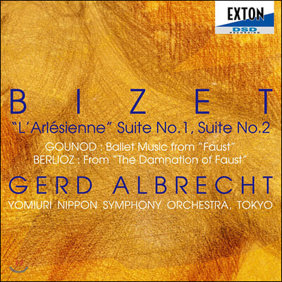 Gerd Albrecht 비제: 아를르의 여인 모음곡 1, 2번 / 구노: 파우스트 발레 음악 / 베를리오즈: 파우스트의 겁벌