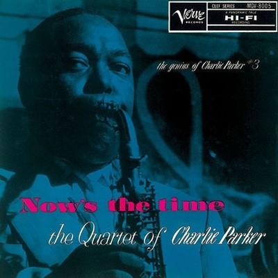 [중고 LP] 찰리 파커 쿼텟 (The Quartet of Charlie Parker) - Now's The Time (Japan 수입)