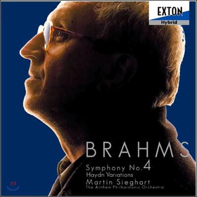 Martin Sieghart 브람스: 교향곡 4번, 하이든의 주제에 의한 변주곡 (Brahms: Symphony Op. 98, Haydn Variations)