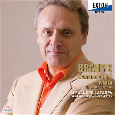 Alexander Lazarev 브람스: 교향곡 1번 / 베버: 오이리안테 서곡 (Brahms: Symphony Op. 68 / Weber: Euryanthe Overture)