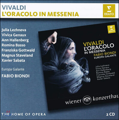 Fabio Biondi 비발디: 오페라 `메세니아의 오라콜로` (Vivaldi: L'oracolo in Messenia RV 726)