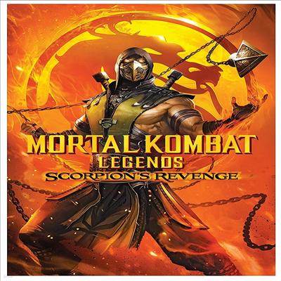 Mortal Kombat Legends: Scorpion's Revenge (모탈컴뱃 레전드: 스콜피온의 복수) (2020)(지역코드1)(한글무자막)(DVD)