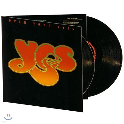 Yes (예스) - Open Your Eyes [2 LP]