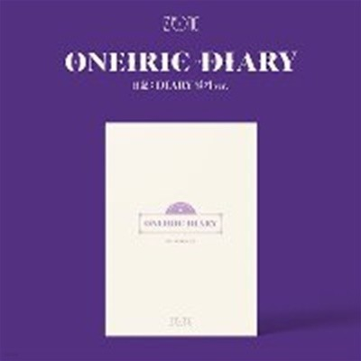 [미개봉] 아이즈원 (IZ*ONE) / Oneiric Diary (3rd Mini Album) (일기 Ver)