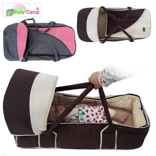 [베이비캠프]휴대용 아기침대 /여행용 유아침대가방