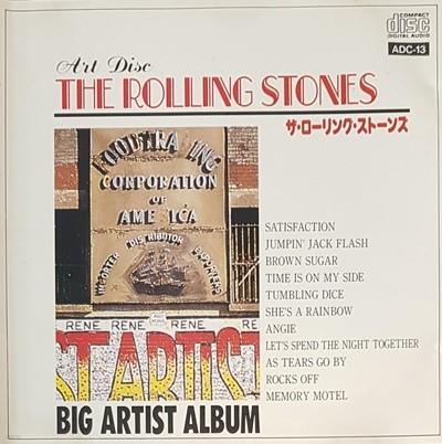 [일본반] Rolling Stones - Big Artist Album