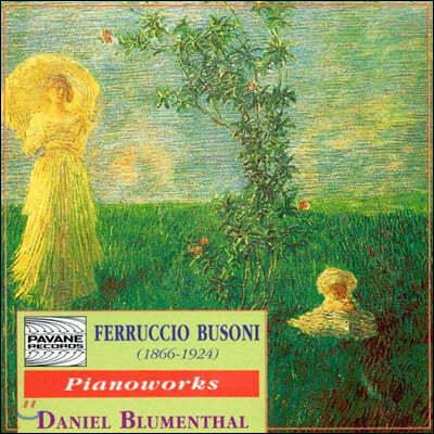 Daniel Blumenthal 페루치오 부조니: 피아노 작품집 (Ferruccio Busoni: Piano Works)