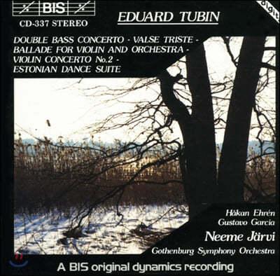 Neeme Jarvi 에드워드 터빈: 더블 베이스 협주곡, 바이올린 협주곡 2번 외