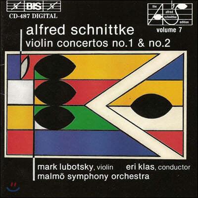 Mark Lubotsky 알프레드 슈니트케: 바이올린 협주곡 1, 2번 (Alfred Schnittke: Violin Concertos No. 1, 2)