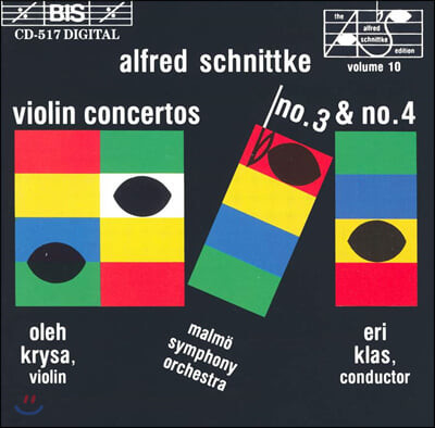 Oleh Krysa 알프레드 슈니트케: 바이올린 협주곡 3, 4번 (Alfred Schnittke: Violin Concertos No. 3, 4)