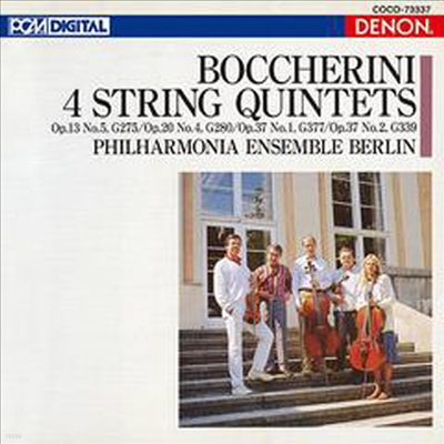 보케리니: 4개의 현악 오중주 작품집 (Boccherini: 4 Stirng Quintets) (일본반) - Philharmonia Ensemble Berlin