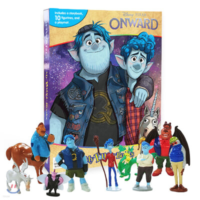 My Busy Books Disney Onward : 디즈니 온워드 : 단 하루의 기적 비지북
