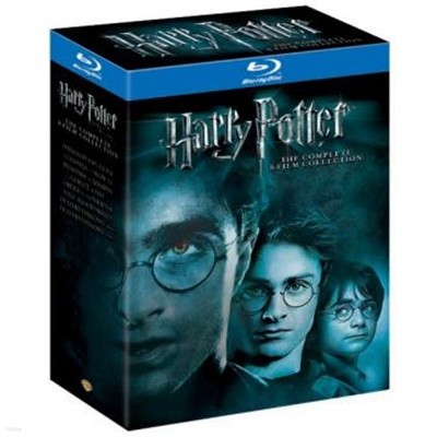 [블루레이] 해리포터 7부작 피날레 박스세트 (11disc) (Blu-ray : Harry Potter - The Complete Collection Years 1-7)