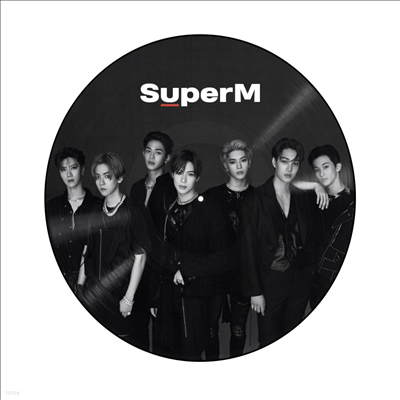 슈퍼엠 (SuperM) - SuperM (1st Mini Album) (Group Ver.) (Picture LP)