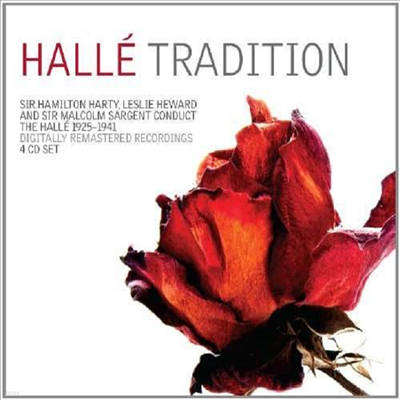 할레 관현악단의 유산 (Halle Tradition - Dvorak, Elgar, Schubert, Brahms, Bruch & Meldelssohn) (Remastered)(4CD Boxset) - Hamilton Harty