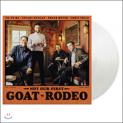 Yo-Yo Ma / Chris Thile (요요마의 고트 로데오 프로젝트) - Not our first Goat Rodeo [투명 컬러 LP]