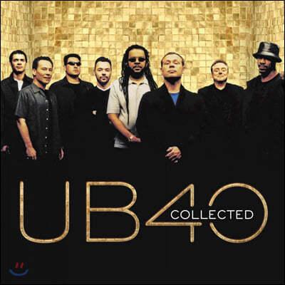 UB40 (유비포티) - Collected [투명 컬러 2LP]
