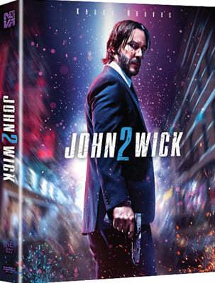 존윅 1 (1Disc 4K UHD 렌티큘러 풀슬립 스틸북) : 블루레이